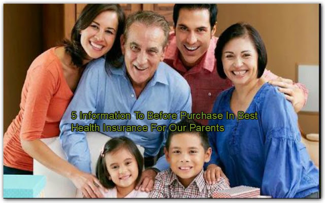 5 Information To Before Purchase In Best Health Insurance For Our Parents
