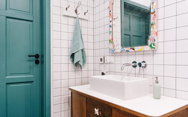 Kąpiel w masarni, czyli o łazience, która kafli się nie bała - CZYTAJ DALEJ