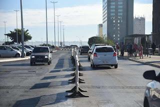 Reforma da rodoviária: Com risco de desabamento, mudanças no trânsito durarão por 30 dias