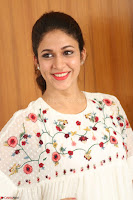 Lavanya Tripathi in Summer Style Spicy Short White Dress at her Interview  Exclusive 193.JPG