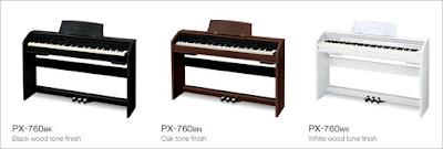 Đàn piano điện casio px-760 hiện nay giá bao nhiêu