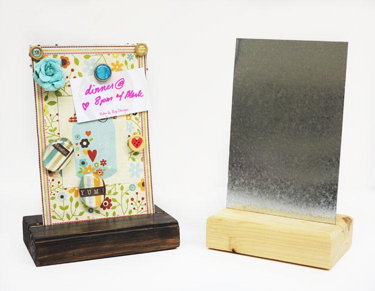 Clothespin Recipe Card Holder Craft