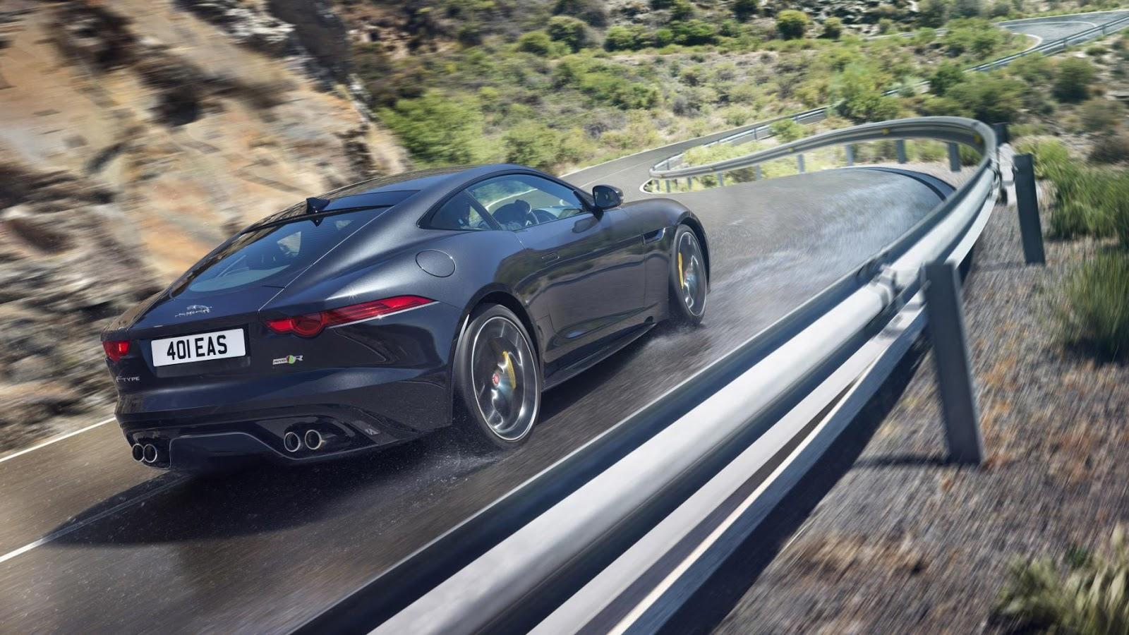 Jaguar F-Type R Coupe AWD - tăng tốc từ 0 - 100 km/h trong 4.1secs