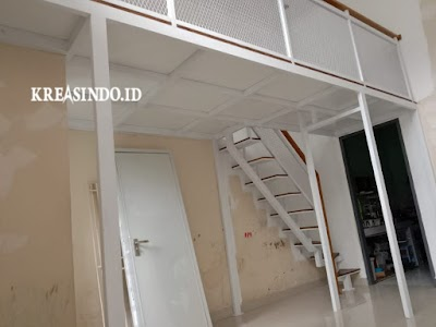 Mezzanine Besi pesanan Bpk Andi Saputra di Serpong Tangerang