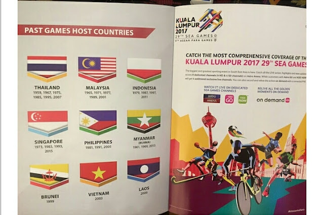 KJ Sendiri Tampil Mohon Maaf, Isu Bendera Indonesia Dicetak Terbalik Di Buku Sukan SEA 2017