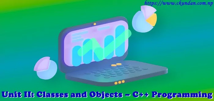 Unit II: Classes and Objects – C++ Programming
