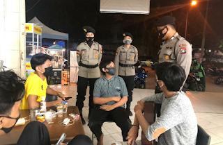 Cegah C-19, Kembali Aman Nusa II Seligi Himbau Warga Terakan 4 M