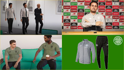 PES 2020 Celtic F.C. Polo Shirts & Track Suits by PESWilliam
