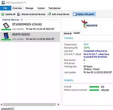 Software Untuk Mengecek Kesehatan SSD-2