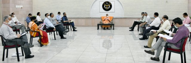 मुख्यमंत्री योगी ने कोविड-19 से निपटने के लिए गठित टीम - 11 के साथ की समीक्षा बैठक   Chief Minister Yogi reviews meeting with team - 11 set up to deal with Covid-19     संवाददाता, Journalist Anil Prabhakar.                 www.upviral24.in