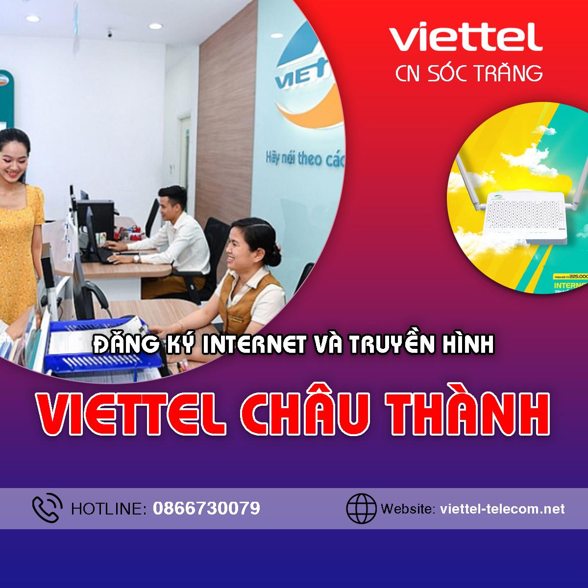 Cửa hàng Viettel Châu Thành Sóc Trăng