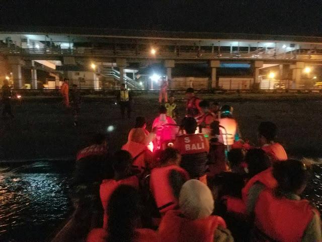 Kapal Dengan 49 POB Kandas di Perairan Gilimanuk