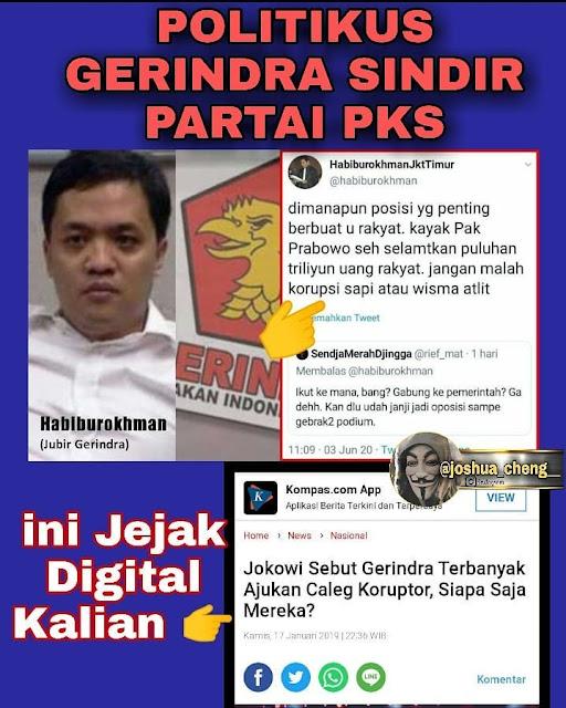 Gerindra Sindir PKS, Banyak Makan Uang Haram Korupsi Sapi