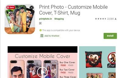 photo custom mobile back cover