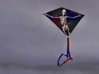 凧のかかし(素材使用)