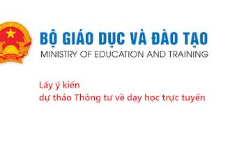 Dự thảo Quy định về dạy học trực tuyến của Bộ GD-DT 2020