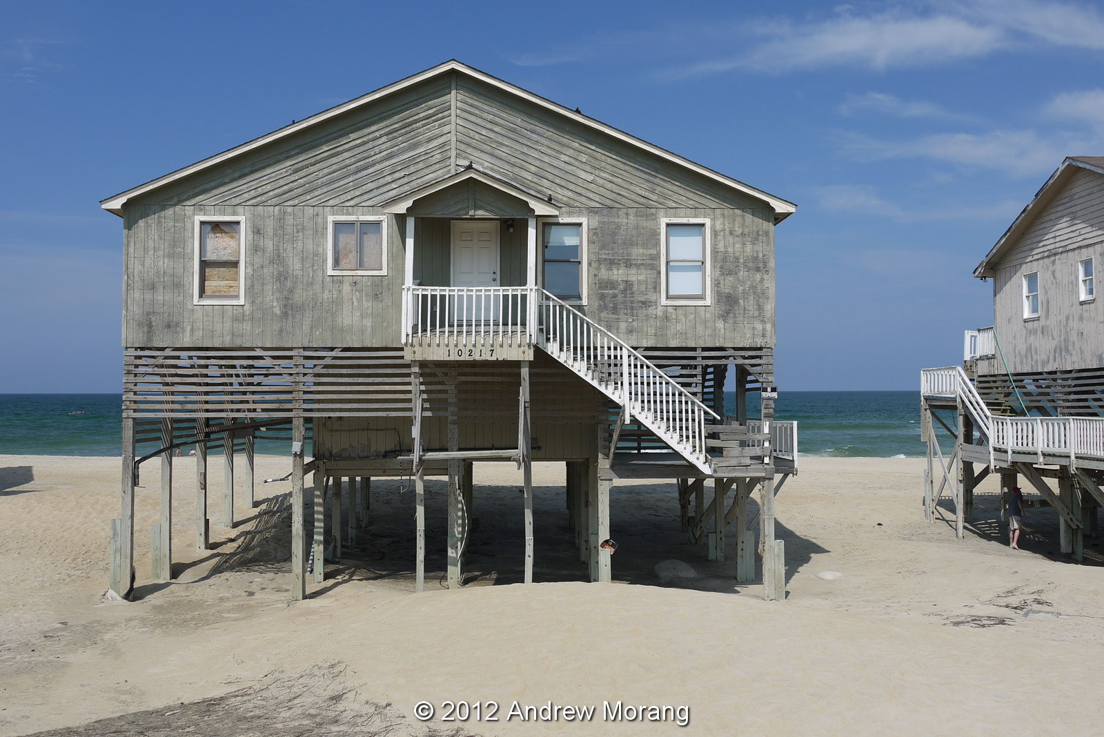 Condemned Beach Houses At South Nags Head Nc