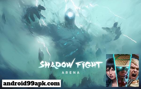 لعبة Shadow Fight Arena v0.3.3 مهكرة 494 ميجابايت للأندرويد