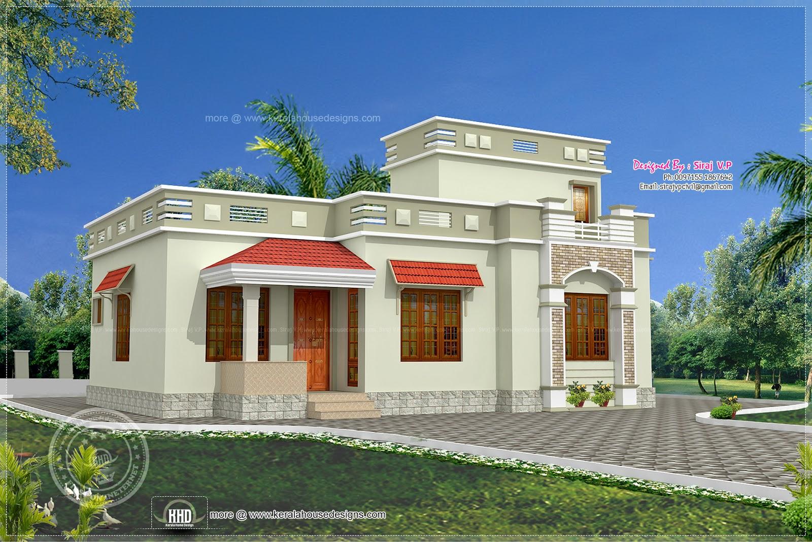 Low Budget Kerala Style Home In 1075 Sq Feet Kerala Home