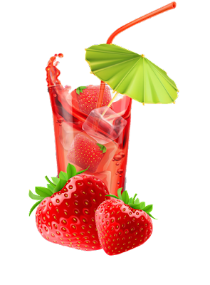 Strawberry Juice Clipart