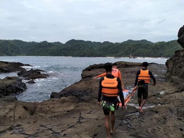 Sempat Terombang Ambing Dilaut :Pemacing Berhasil Diselamatkan Oleh Tim SAR