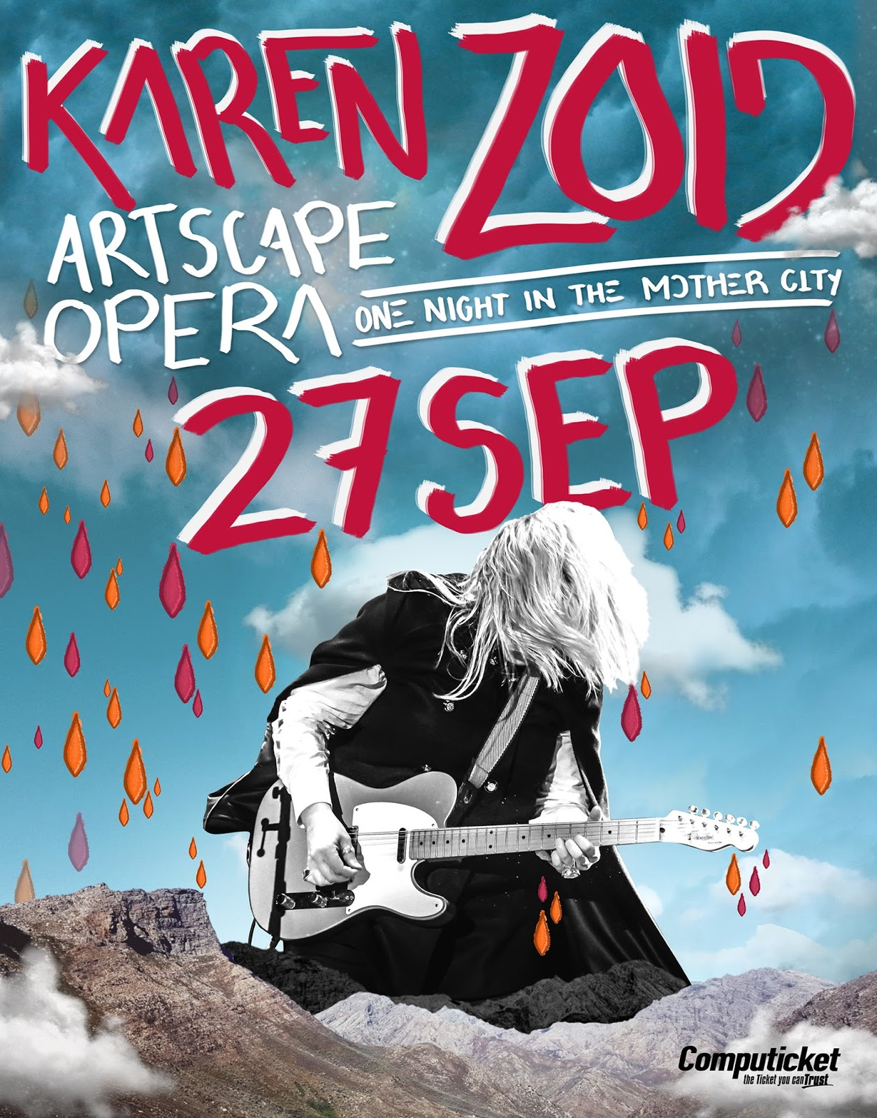 Karen zoid a special one night show at artscape opera for Small room karen zoid lyrics