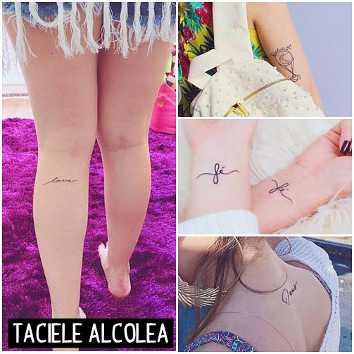 tatuagens taciele alcolea