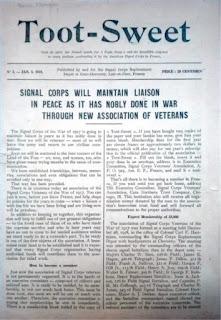 Toot-Sweet, journal du Signal Corps de Cour-Cheverny