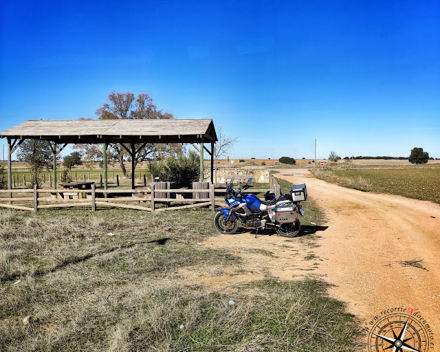 área descanso Ruta del Quijote