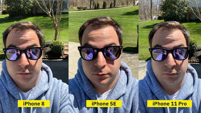 iphone se front camera