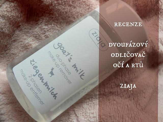 recenze odličovače ziaja, blogspot ziaja
