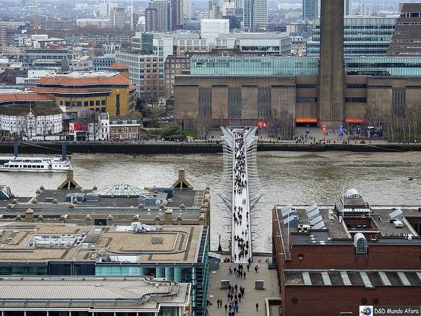 MIlennium Bridge - O que fazer em Londres: 48 atrações imperdíveis