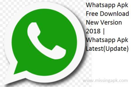 Whatsapp Apk For Android-www.missingap.com
