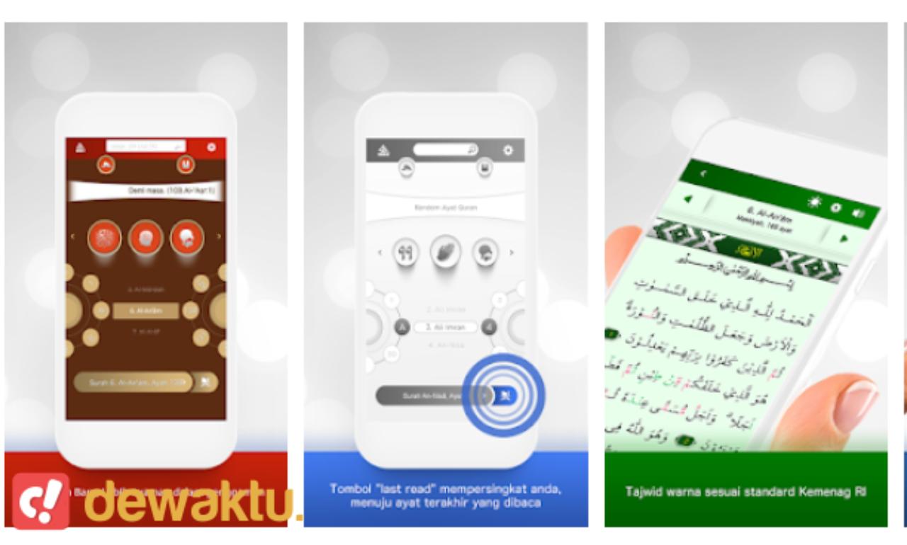 aplikasi al-quran lengkap dengan tajwid