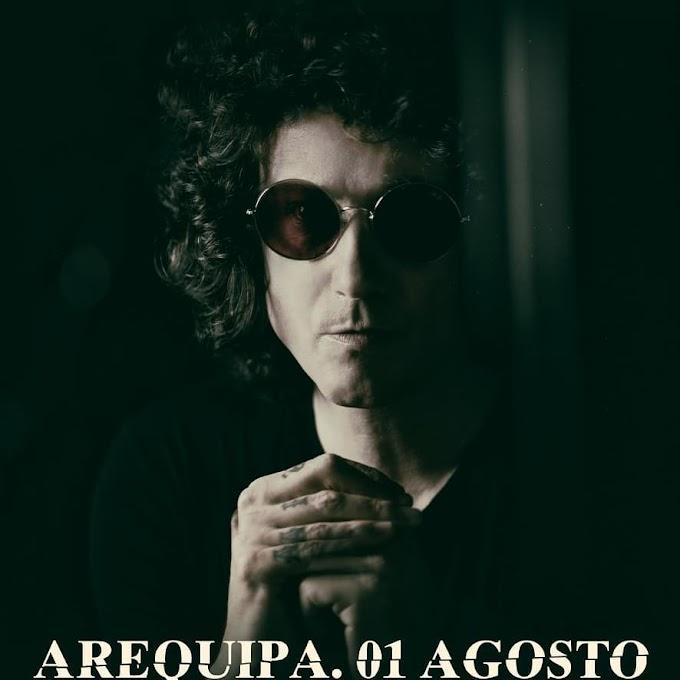 Enrique Bunbury en Arequipa - 01 de agosto