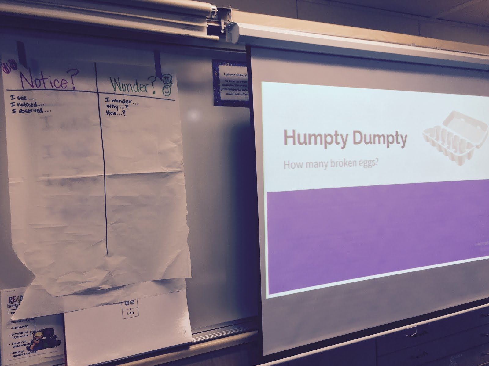 Ms Haughs Humpty Dumpty Using Inquiry Based Math Tasks