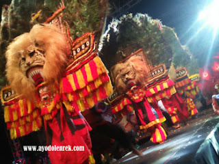 Reog Ponorogo di Malang Night Culture and Art 2018