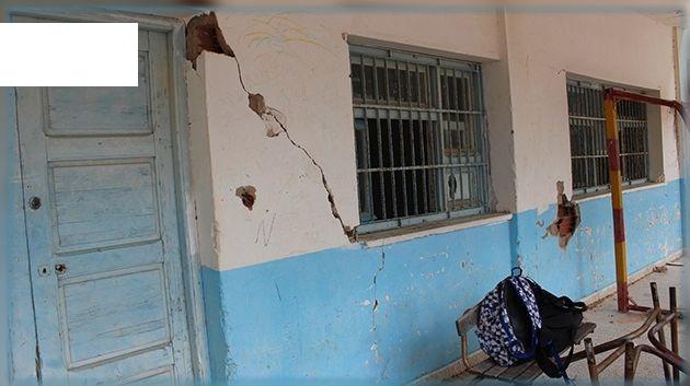 غلق أقسام آيلة للسقوط بمدرسة سيدي القديدي