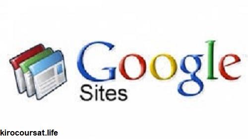 ابني موقعك مجانا مع  Google sites