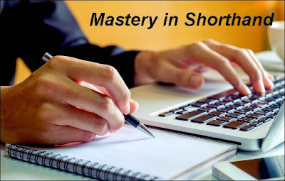 Practice for Mastery in Shorthand