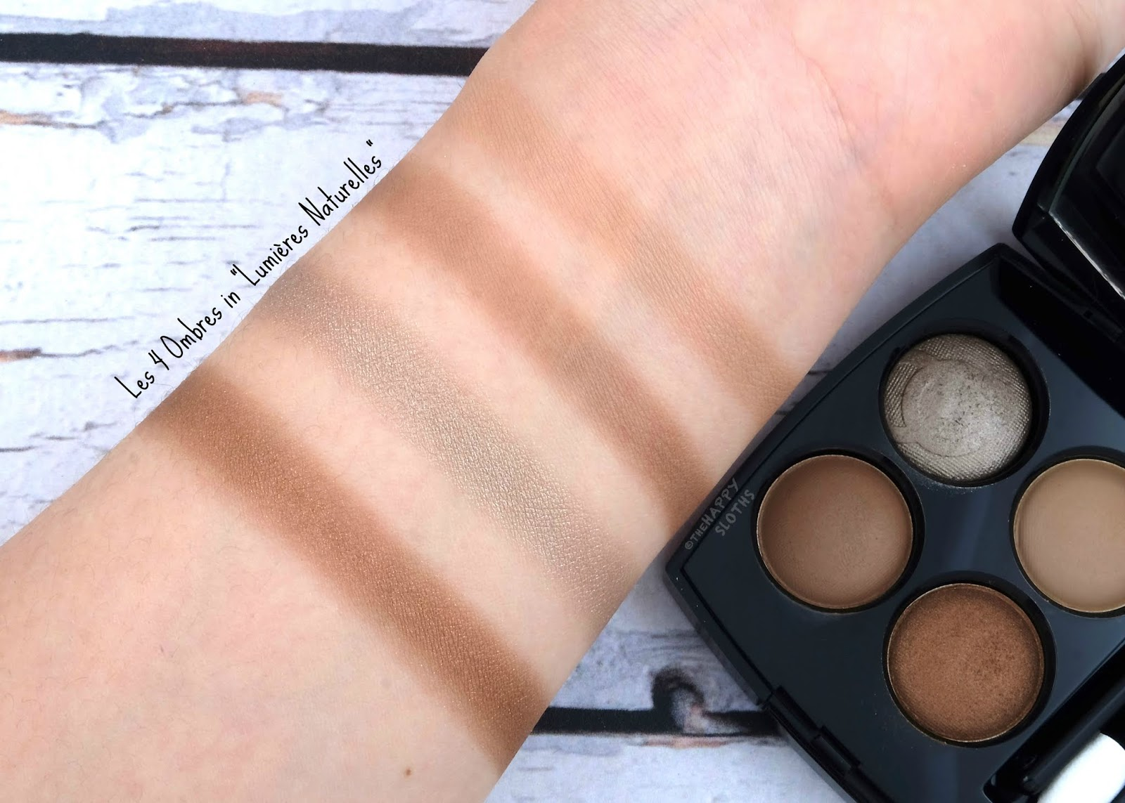 "Chanel Cruise Collection 2019 | Les 4 Ombres Eyeshadow Palette in ""Lumière Naturelles"": Review and Swatches"