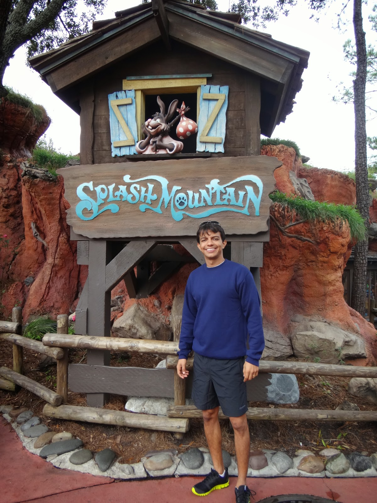 splash mountain - magic kingdom - orlando, eua