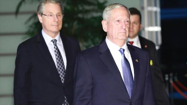 Jefe del Pentágono acusa a Irán de apoyar al terrorismo