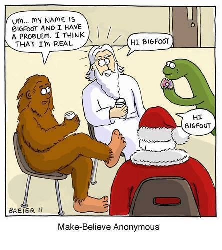 Funny Make-believe Anonymous Religious Cartoon Picture