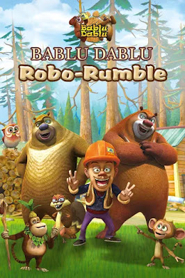 Bablu Dablu – Robo Rumble 2019 Hindi 720p WEB-DL 400mb