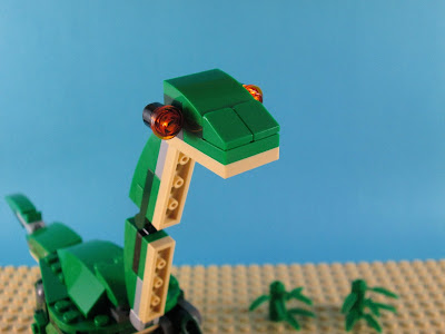 Set LEGO Creator 3in1 31058 Mighty Dinosaurs modelo 4 Brontosaurus