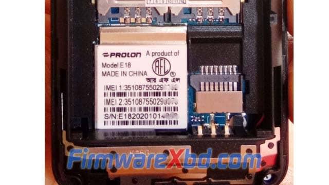 Proton E18 Flash File Download