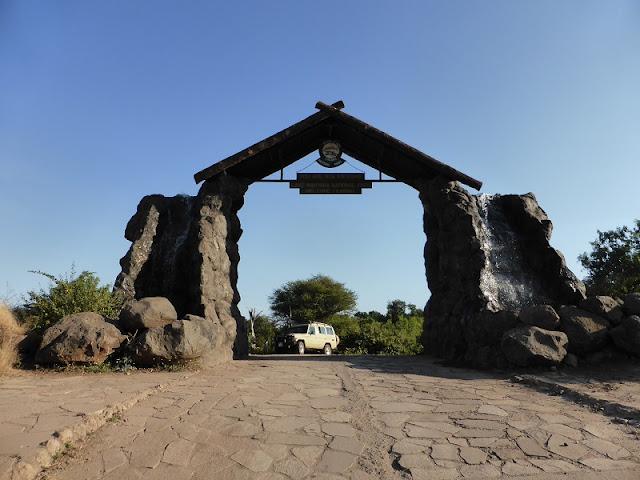 Entrada al Parque Nacional Lago Manyara