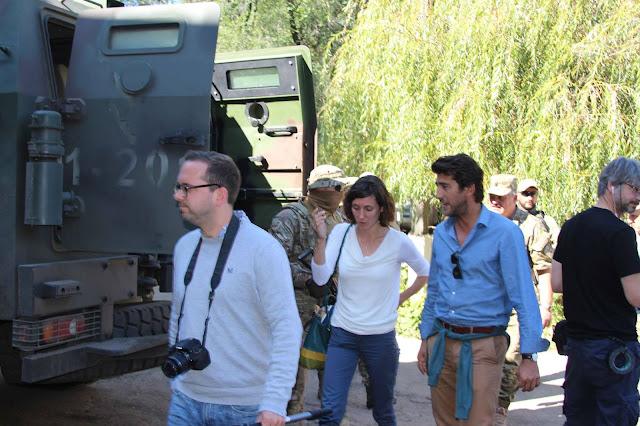 Європейські політики та журналісти побували у зоні АТО