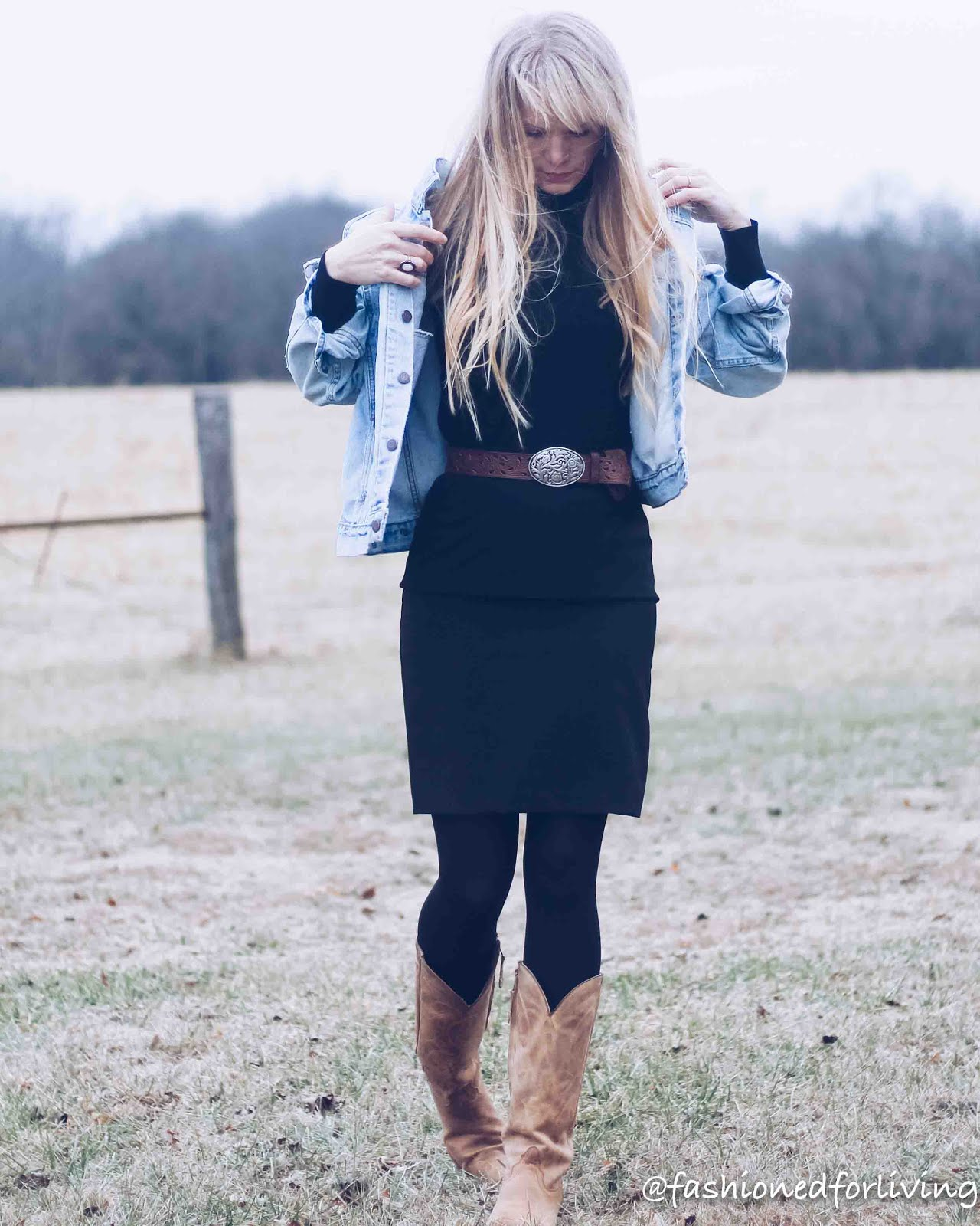 pencil skirt outfits winter boots